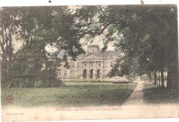 *** 54  ***  LUNEVILLE Le Château Vu De L'allée De La Minerve TB Voyagé - Luneville