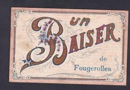 Fougerolles (70) Un Baiser De Fougerolles ( Brillants Paillettes ) - Autres Communes