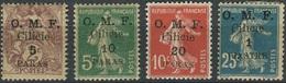 Cilicie, 4 Briefmarken/timbres, Postfrisch/mit Falz / **/* (2-88) - Ongebruikt