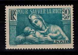 YV 419 N* (trace) Pour Sauver La Race Cote 2,50 Euros - Nuovi