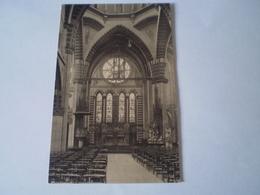 Bruxelles // Rue D'Artois 17 - Interieur Eglise Des Freres Mineurs Conventuels 19?? - Zonder Classificatie
