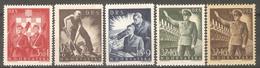 1944 - NDH Radna Sluzba MH-MNH Dve Boje - Croatia