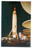 Vintage, Disneyland, Tomorrowland, TWA Rocket Ride. Printed Pc, Unused. - Disneyland