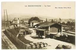 CPA 71 LA ROCHE-VINEUSE LA GARE - Sonstige Gemeinden