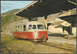 CFD Lozère, Voie Métrique, Autorail Billard - Pierron Biblio-Rail CPM - Trains