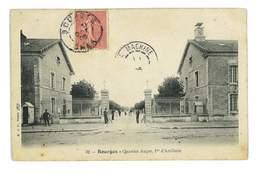 CPA 18 BOURGES LE QUARTIER AUGER - Bourges