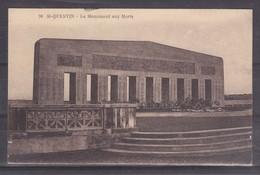 CPA Saint Quentin Dpt 02 Le Monuments Aux Morts Réf 1079 - Saint Quentin