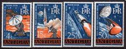 Antigua 1968 NASA Apollo Project Space Set Of 4, Hinged Mint, SG 212/5 - Antigua & Barbuda (...-1981)