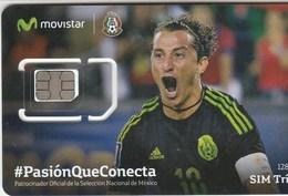 Mexico - Movistar (standard, Micro, Nano SIM) - GSM SIM  - Mint - Mexico