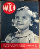 Match N° 77 21 Décembre 1939 - Journaux - Quotidiens