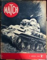 Match N° 79 4 Janvier 1940 - Journaux - Quotidiens
