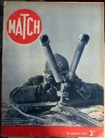 Match N° 81 18 Janvier 1940 - Journaux - Quotidiens