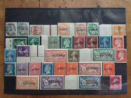 EX COLONIE FRANCESI 1925/26 - ALGERIA - Dipartimento Francese Nn. 1/32 Nuovi * Completa + Spese Postali - Algeria (1924-1962)
