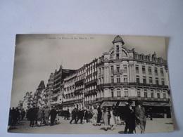Oostende - Ostende // Fotokaart//La Dique Et Les Hotels (Hotel Royal Belge (Geanimeerd) 19?? - Oostende