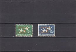 Republica De Guinea Nº A22a Al A23a - Guinée (1958-...)