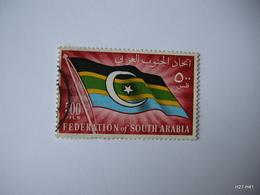 FEDERATION OF SOUTH ARABIA 1965. Federal Flag. 500 Fils. SG 15. Used. - Yemen