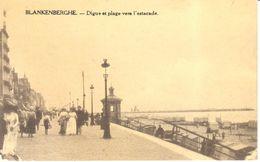 Blankenberge - CPA - Digue Et Plage Ves L'estacade - Blankenberge
