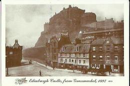 Edinburgh    Castle From Grassmarkel 1897 - Andere
