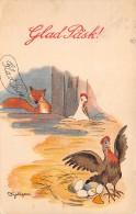 Suede . N° 49418 . Glad Pask.paques.poule Et Renard - Suède
