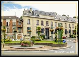95  BEAUMONT  Sur  OISE     ..  Rond Point A L Entree De La Ville - Beaumont Sur Oise