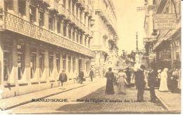 Blankenberge - CPA - Rue De L'Eglise - L'escalier Des Lions - Blankenberge