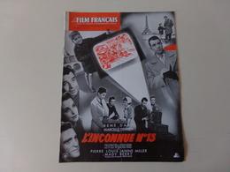 """Magazine """" Le Film Français """" N° 227, Avril 1949 """" L'inconnue N° 13 """" - Magazines"""