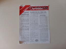 """Magazine """" Le Courrier Du Centre Du Cinéma """" Mai1949 - Magazines"""
