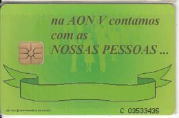 PORTUGAL(chip) - Aniversário AON V, Tirage 4500, 05/96, Mint - Portugal