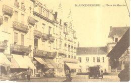Blankenberge - CPA - Place Du Marché - Blankenberge