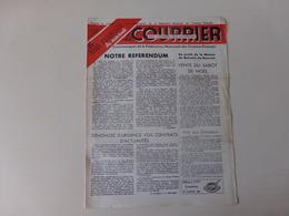 """Magazine """" Le Courrier Du Centre Du Cinéma """" N° 71 Décembre 1948 - Magazines"""
