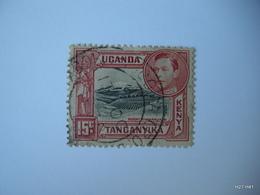 Kenya, Uganda & Tanganyika 1938. King George VI. Mount Kilmanjaro. 15c. SG 137A. Used. - Kenya, Uganda & Tanganyika