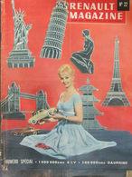 Renault Magazine N°22 (janv 1959) 4 CV Et Dauphines - Usines De Montage à L'étranger - Auto/Motor