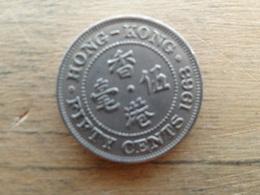 Hong-kong  50 Cents  1963  Km 30 - Hong Kong