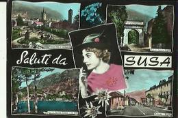SUSA   Multivue  ( 5 ) _Saluti Da Susa - Andere Steden
