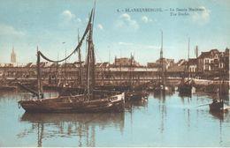 Blankenberge - CPA - Le Bassin Maritime - Blankenberge