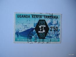 Kenya, Uganda & Tanzania. 1969. International Labour Organization 1919 - 1969. Shipping. 2S 50. SG 263. Used. - Kenya, Uganda & Tanganyika