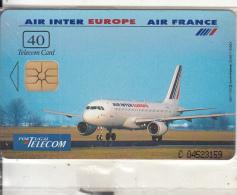 PORTUGAL - Air Inter Europe/Air France, Tirage 7000, 05/96, Mint - Portugal