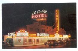 Vintage, USA, Las Vegas, El Cortez Hotel. Printed Pc, Unused. - Hotels & Restaurants