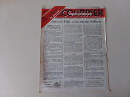 """Magazine """" Le Courrier Du Centre Du Cinéma """" N° 76 Janvier 1949 - Magazines"""