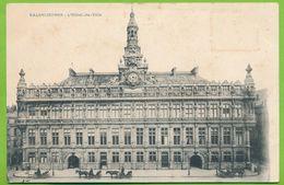 VALENCIENNES - L'Hôtel De Ville Attelage Cheval - Valenciennes