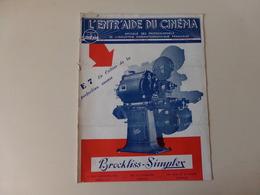 """Magazine """" L'entr'aide Du Cinéma """" N° 51 Février 1949 """" E 7 Le Critère De La Perfection Sonore """" - Magazines"""