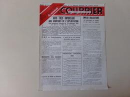 """Magazine """" Le Courrier Du Centre Du Cinéma """" N° 125 Janvier 1950 - Magazines"""