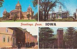 USA        342        ( 4 Views ) Greetings From IOWA - Etats-Unis