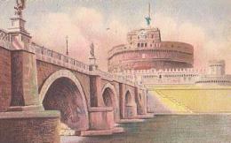 Italie        584        ROMA.Ponte E Castel S.Angelo - Ponts