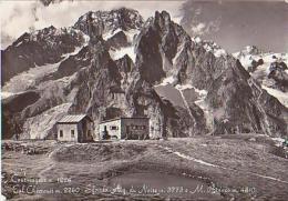 Italie        H1625        Courmayeur.Col Checrouit.Sfondo Aig Dei Noire.M.Oztanio - Italy