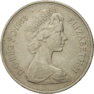 Monnaie, Grande-Bretagne, Elizabeth II, 10 New Pence, 1968, TTB, Copper-nickel - 1971-… : Monnaies Décimales