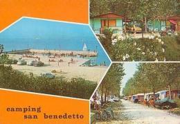 """Italie        H1667        San Benedetto Di Lugana.Camping """" San Bendetto """" ( 3 Visu..... ) - Italien"""