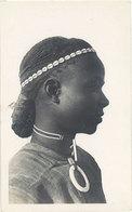 Cpa Haute-Volta – A.O.F.  Homme Kado ( Coiffure, Bijoux En Coquillages ) - Burkina Faso