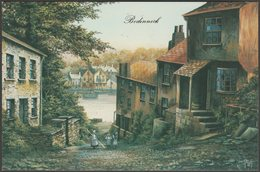 Kevin Platt - Bodinnick, Cornwall, 1982 - DG Thomas Postcard - England