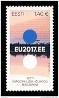 Estonia 2017 Mih. 892 Estonian Presidency Of The Council Of EU MNH ** - Estonie